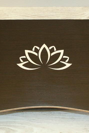Wooden Laptop Bed Tray / iPad Table / Laptop Stand 'Lotus'